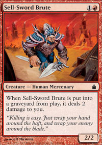 Sell-Sword Brute - Ravnica
