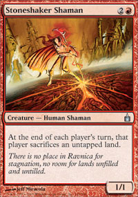 Stoneshaker Shaman - Ravnica: City of Guilds