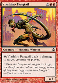 Viashino Fangtail - Ravnica: City of Guilds