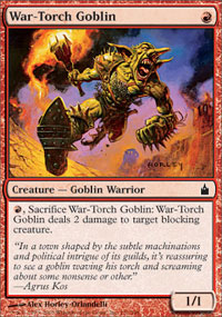 War-Torch Goblin - Ravnica