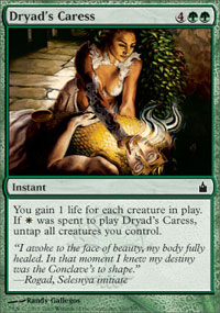 Dryad's Caress - Ravnica: City of Guilds