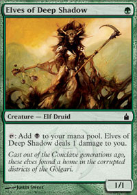 Elves of Deep Shadow - Ravnica
