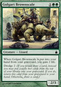 Golgari Brownscale - Ravnica: City of Guilds