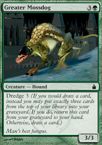 Greater Mossdog - Ravnica