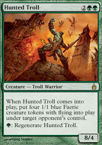 Hunted Troll - Ravnica: City of Guilds