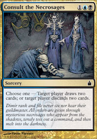 Consult the Necrosages - Ravnica