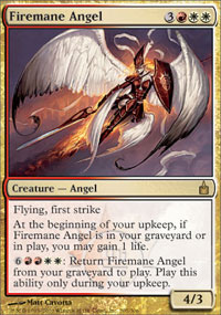 Firemane Angel - Ravnica: City of Guilds