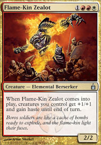 Flame-Kin Zealot - Ravnica: City of Guilds