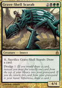 Grave-Shell Scarab - Ravnica: City of Guilds
