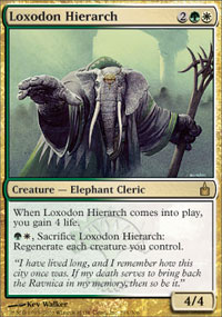 Loxodon Hierarch - Ravnica: City of Guilds
