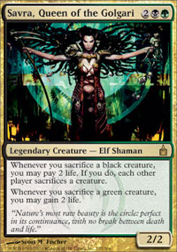 Savra, Queen of the Golgari - Ravnica