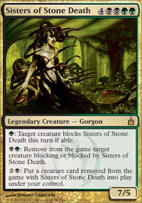 Sisters of Stone Death - Ravnica: City of Guilds