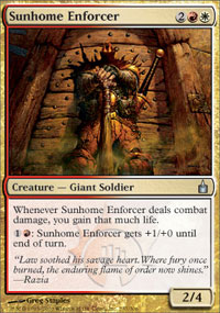 Sunhome Enforcer - Ravnica: City of Guilds