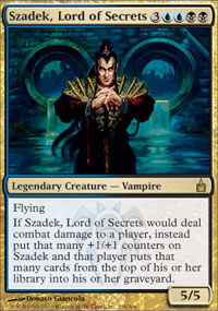 Szadek, Lord of Secrets - Ravnica: City of Guilds