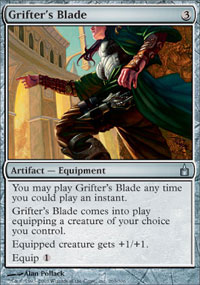 Grifter's Blade - Ravnica: City of Guilds