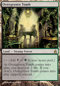 Overgrown Tomb - Ravnica: City of Guilds