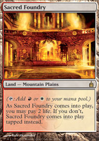 Sacred Foundry - Ravnica: City of Guilds