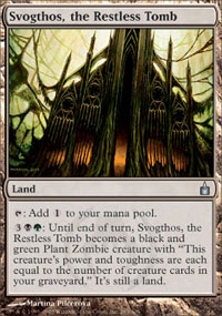 Svogthos, the Restless Tomb - Ravnica: City of Guilds