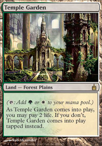 Temple Garden - Ravnica: City of Guilds