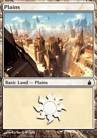 Plains 4 - Ravnica