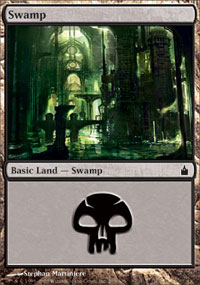 Swamp 1 - Ravnica: City of Guilds