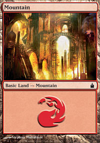 Mountain 1 - Ravnica: City of Guilds