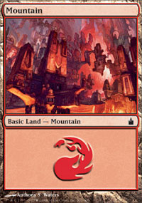 Mountain 3 - Ravnica: City of Guilds