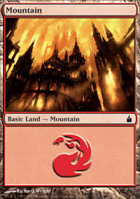 Mountain 4 - Ravnica: City of Guilds