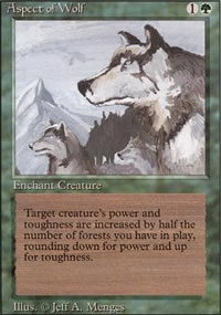 Aspect of Wolf - Revised Edition