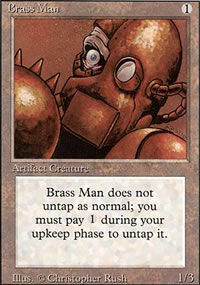 Brass Man - Revised Edition