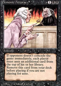 Demonic Attorney - Revised Edition