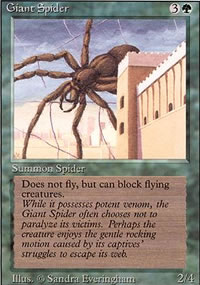 Giant Spider - Revised Edition