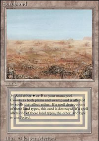 Scrubland - Revised Edition
