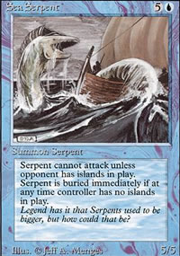 Sea Serpent - Revised Edition