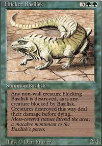 Thicket Basilisk - Revised Edition