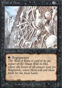 Wall of Bone - Revised Edition
