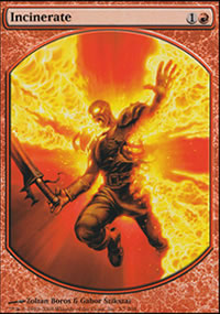 Incinerate - Player Rewards
