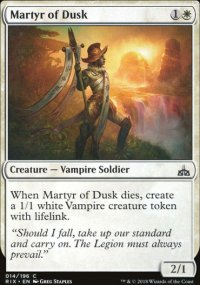 Martyr of Dusk - Rivals of Ixalan