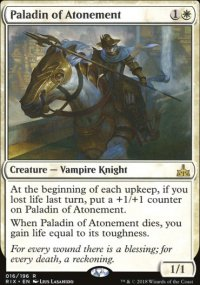 Paladin of Atonement - Rivals of Ixalan