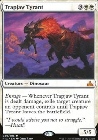 Trapjaw Tyrant - Rivals of Ixalan