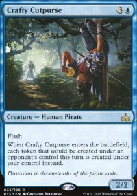 Crafty Cutpurse - Rivals of Ixalan