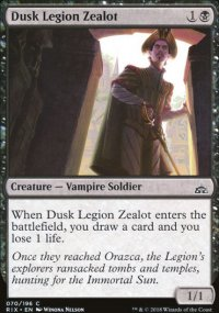 Dusk Legion Zealot - Rivals of Ixalan