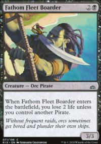 Fathom Fleet Boarder - Rivals of Ixalan