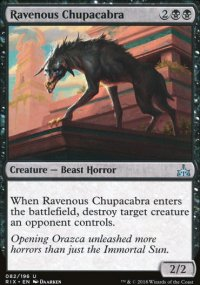 Ravenous Chupacabra - Rivals of Ixalan