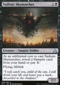 Sadistic Skymarcher - Rivals of Ixalan