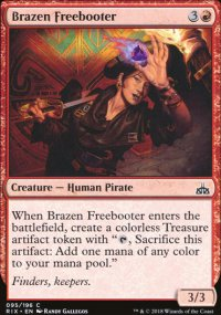 Brazen Freebooter - Rivals of Ixalan