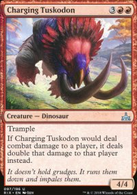 Charging Tuskodon - Rivals of Ixalan