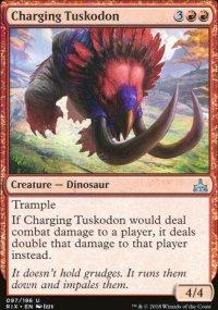 Charging Tuskodon - Rivals of Ixalan