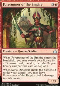 Forerunner of the Empire - Rivals of Ixalan