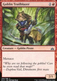 Goblin Trailblazer - Rivals of Ixalan